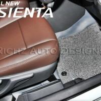 Karpet COMFORT D'LUXE Khusus Toyota SIENTA 2016 Tanpa Bagasi