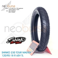 ban SHINKO 230 (R) 120/90-18 (65V) Tourmaster / Touring / Kustom