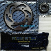 gir set / gear paket / chain kit baja scorpio / z detroit of thai