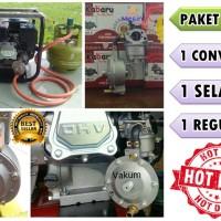Converter Genset/pompa Air Bensin Agar Bisa Menggunakan Gas Elpiji