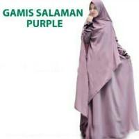 Gamis syari Salaman jumbo Dusty (BEST SELLER)