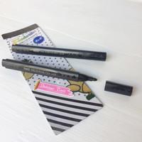 BK115 Foodwriter Black edible pen fondant icing chocolate coklat pao