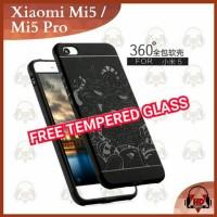 Xiaomi Mi 5 Mi5 Pro Casing Slim Case Soft Armor Cocose +Tempered Glass