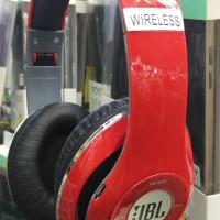 Headphone JBL Bluetooth Mic Stereo HD MP3 Headset Untuk PC HP Laptop