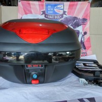 harga Box Motor Kmi 688 Warna Hitam Tokopedia.com