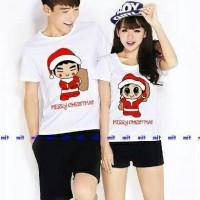 Baju Couple Santa Boy Girl (HARGA SUDAH SEPASANG)