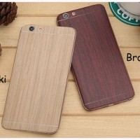 OPPO F1S Wooden Protector Back,Side And Face Skin Case Skin Guard