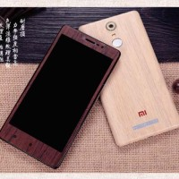 Xiaomi Redmi Note 3 Wooden Protector Layercase Back,Side Skin Case