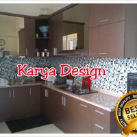 Jual kitchenset kitchen set rak lemari dapur apartement set kamar set Murah