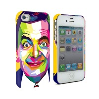 Mr Bean Iphone 4 4G 4S Custom Case
