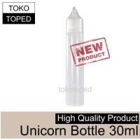Empty UNICORN Long Dropper Bottle 30ml | botol kosong tokotoped rda