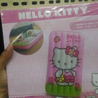 kasur angin hello kitty helo kity pink anak travelling bed