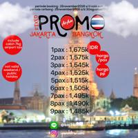 Tiket Promo Air Asia Jakarta - Bangkok