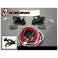 RC CAR 3RACING SPION WITH LED FOR TOURING ,DRIFT SEDAN [3RAC-LEDK01]