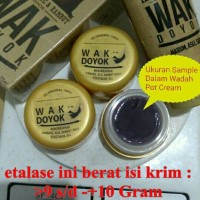 cream krim wak doyok wakdoyok alis kumis sample jar 9-10 gram ori 100%
