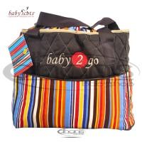 Tas Bayi Baby Scots Diaper Bag Baby 2 Go B2GODB05 - Oranye
