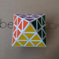 Rubik Octahedron-3 Double Pyraminx Diansheng Pyramid Magic Cube