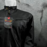 Jaket Semi Kulit Pria / Jaket Oscar Ferari / Jaket Kulit Bi Terbatas 2