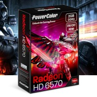 VGA POWERCOLOR ATI-RADEON HD6570 2GB DDR3 128BIT