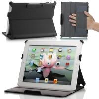 IPad 2/3/4 Moko Slim Fit Folio Stand Premium Lather Flip Case Casing
