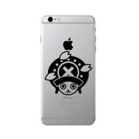 Jual Sticker Decal Apple iPhone 1set 2PCS - Tony Chopper - Rina Shop Murah