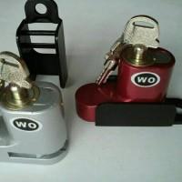 Kunci Ganda | Kunci Cakram | Anti Maling Motor