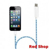 NOOSY Visible Flowing Current Flash Cable for Apple 8 Pin - CK-VS803 -