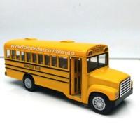 miniatur mobil bis sekolah bus school klasik kado hadiah anak mobilan