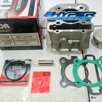Blok Bore Up TDR Racing Mio J Injeksi / Soul GT / X Ride / Fino 58,5mm