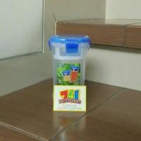 Botol Minum/ Tea Leaf Bottle/ Green Leaf Lock 4/ Shaker Botol 400ml