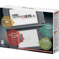 New Nintendo 3DS XL / N3DS XL Warna Black Red Blue White (NEW & ORI)