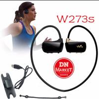 PROMO Sony Walkman Sports MP3 Nwz W273 8GB hitam& black gold - wirele