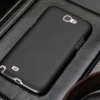 Samsung Galaxy Note 2 / N7100 Baby Skin Ultra Thin Hard Case Black