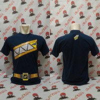 Kaos Power Ranger Dino Charge /Kyoryuger Navy