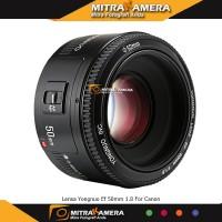 Lensa Yongnuo Ef 50mm 1.8 For Canon