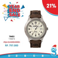 harga Timex Men's T49870 Expedition Metal Field Brown Leather Original Tokopedia.com