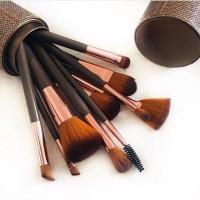 18b30732b344a BH cosmetics - Shimmering Bronze - 12 pcs Brush Set
