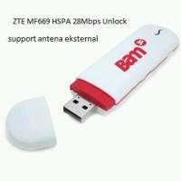 ZTE MF669 GSM Modem HSPA Unlock 28,8 Mbps + Slot Antena