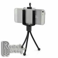 Jual Mini Tripod Flexible + Holder U for Smartphone Murah