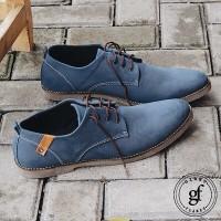 Sepatu casual pria/semi formal denzel blue