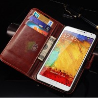 Flip Wallet Case For Samsung Galaxy Note 3 III N9000 N9005 N9006