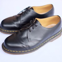 Dr martens 1461 vintage black made in england