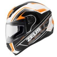 harga Helm Fullface Zeus 811 Al5 White Orange Black + Bonus Dark Smoke Visor Tokopedia.com