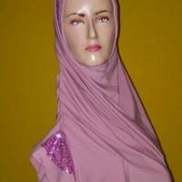 SALE hijab jilbab instan bergo pet henidar amroe manik