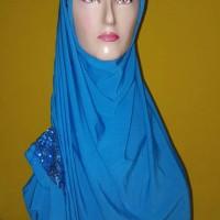 SALE jilbab hijab instan bergo pet henidar amroe blink blink manik