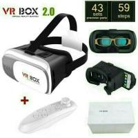 VR / Virtual Reality Box V.2.0 + Remote Bluetooth