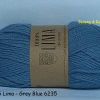 harga Drops Lima Biru Kelabu - Benang Rajut Import Wool Alpaca Impor Wol Tokopedia.com
