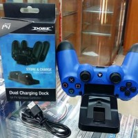 PS4 CHARGER BASE DUAL SHOCK Baru | Aksesoris Video Game Murah (Ready)