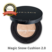 Jual NEW APRILSKIN / April Skin Magic Snow Cushion Black 2.0 Mochi RENEWAL Murah