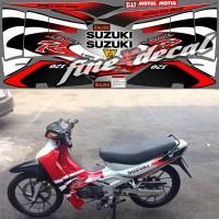 harga Stripping Suzuki Satria 120 R Lumba Standart 2001 (Merah Putih) Tokopedia.com